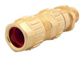 1.605.3200.50 EXIOS (Standard), Ex-d/ATEX/IEC Ex, Bare Brass, High-End Cable Gland