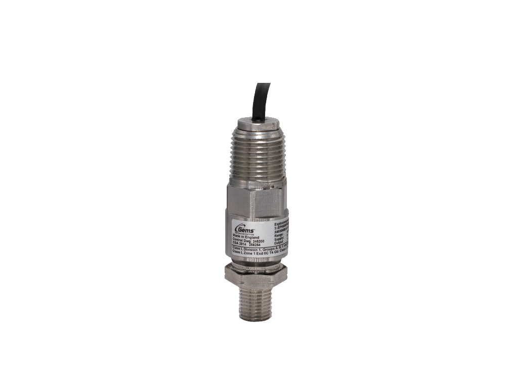 Gems Pressure Transducer 0-300 PsiG