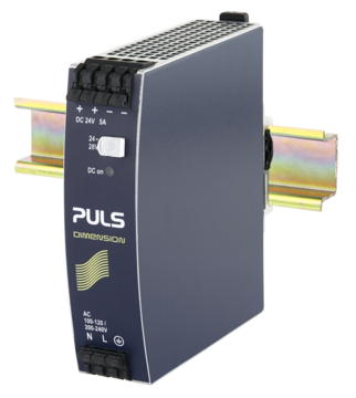 PULS  DIN-Rail Power Supply For 1-phase Systems- 24V/5A