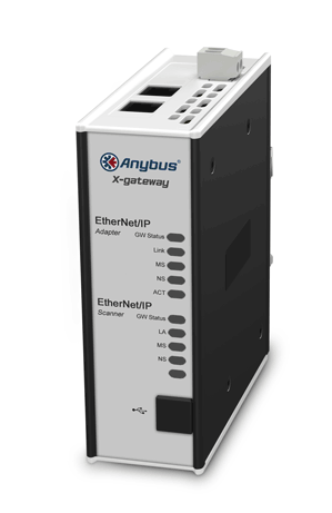 Anybus Gateway-EtherNet/IP Adapter/Slave-Modbus TCP/IP Slave