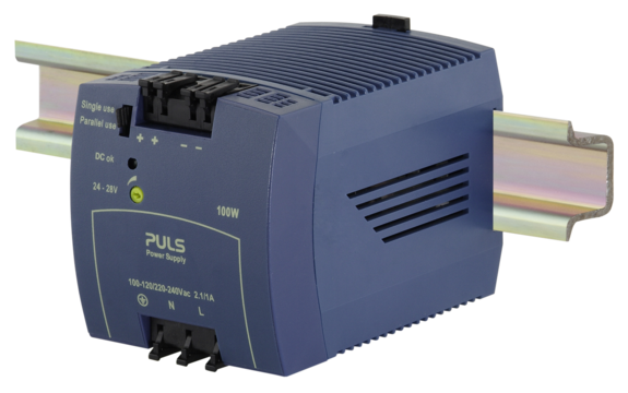 PULS  DIN- Rail Power Supply For 1-phase Systems- 24V/4.2A