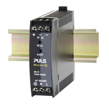 PULS  DIN- Rail Power Supply For 1-phase Systems- 5V/3A