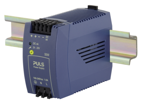 PULS  DIN- Rail Power Supply For 1-phase Systems- 24V/2.1A