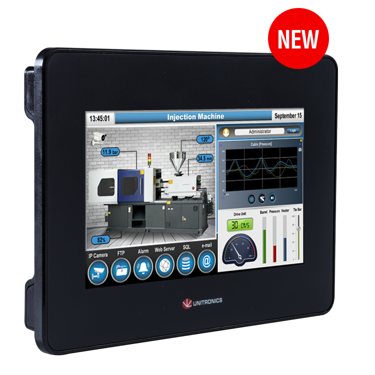 Unitronics Part # USP-104-B10..UniStream 10.4 HMI PANEL