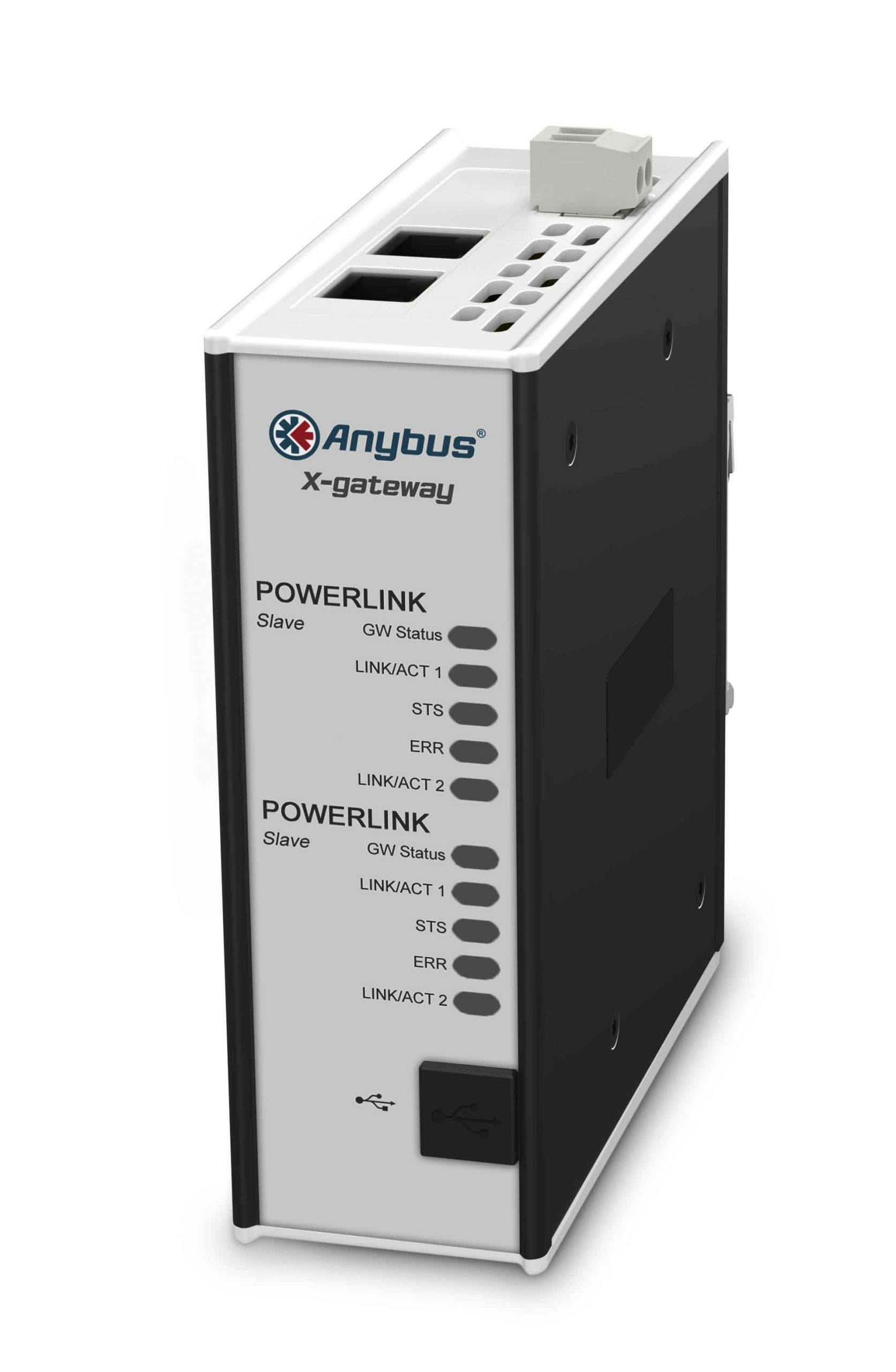 Anybus Gateway-POWERLINK Slave-CANopen Slave