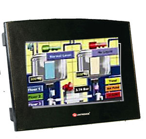 """(7"""" Colortouch Screen) 10 Digital Inputs, 2 Analog/digital Inputs, 2 TC Inputs, 8 Relay Outputs, 2 Analog Outputs, 24VDC"""