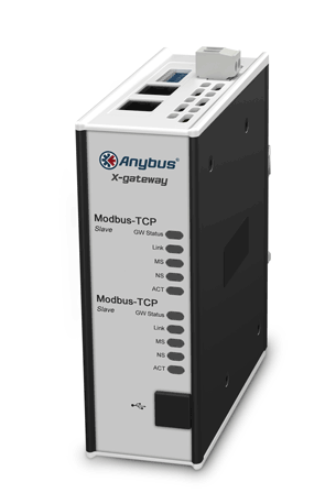 Anybus Gateway-Modbus TCP/IP Slave-ControlNet Adapter/Slave