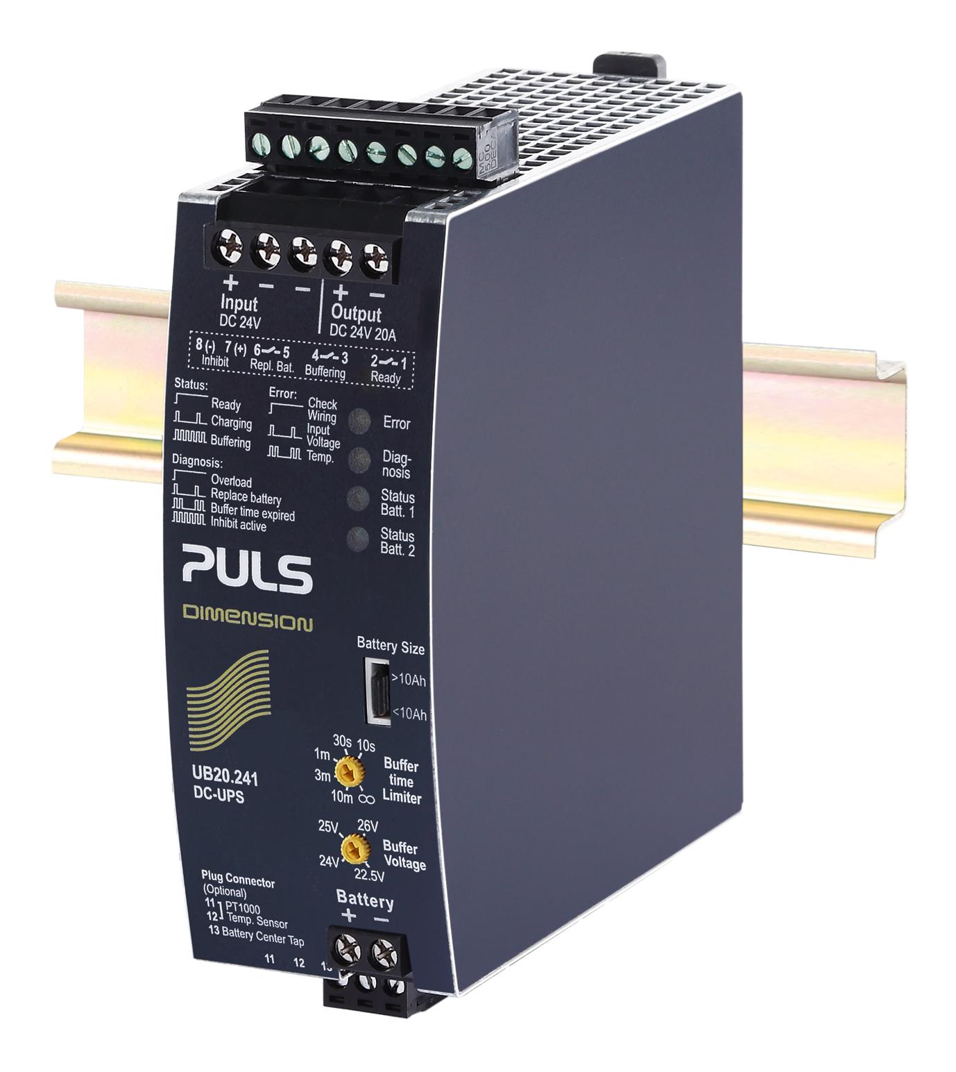 PULS  DC-UPS Control Unit- 24V/20A