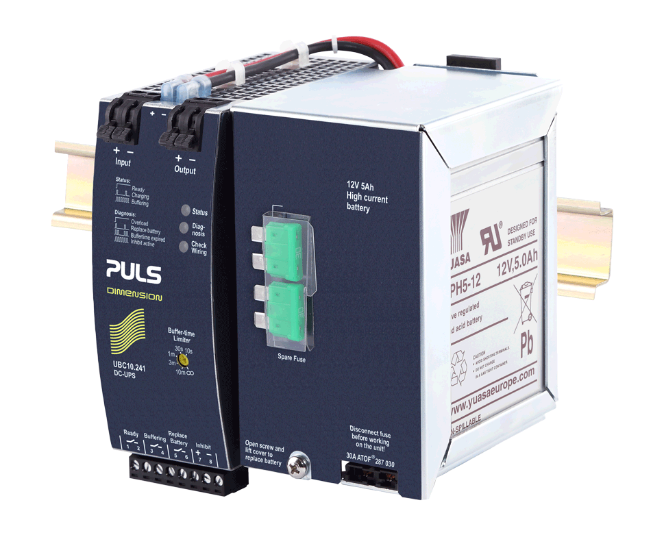 PULS  DC-UPS With Built-in Battery- 24V/10A