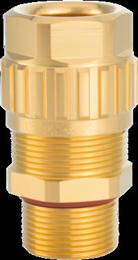 1.608.1200.70 EXIOS (A2F), Ex-d/ATEX/IEC Ex, Bare Brass Gland, Silicon Seal, For Non 1/2″ NPT