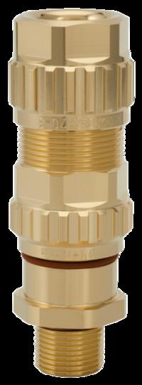 1.605.2500.50 EXIOS (Standard), Ex-d/ATEX/IEC Ex, Bare Brass, High-End Cable Gland