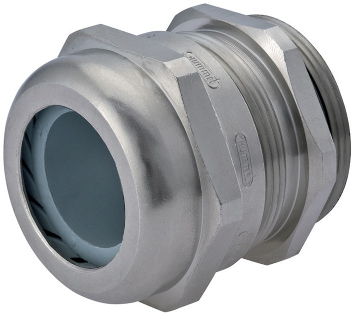 Strain Relief, Dome Top, Nickel Plated Brass, 3/4″NPT, Cable Range .35 – .63″ (9 – 16 Mm), 1.609.3400.71