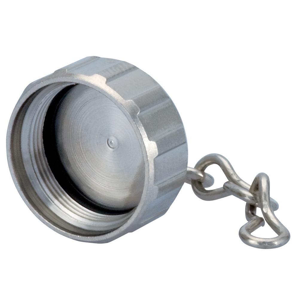 Sealcon : 7K19433201 Custom Captive Brass Cap, Male Thread 70mm Chain Length..