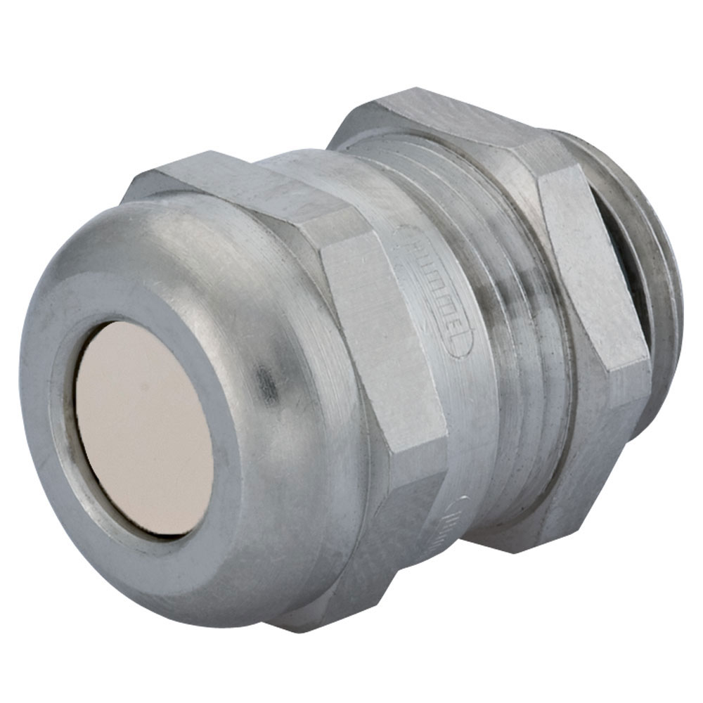 Sealcon : CD17MP-BR Strain Relief, Multi-Hole, Dome Top, Nickel Plated Brass, M16 X 1.5, Solid Insert