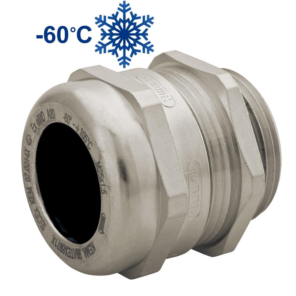 """Sealcon: CC12MA-MX-D..Ex-d Nickel Plated Brass Strain Relief, Nylon Spline, Viton Insert & O-ring , Non- Armored, .12"""" – .26"""" (3 – 6.5 Mm), M12 Thread, .."""