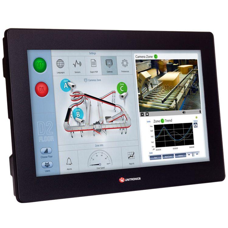 UniStream® 15.6″- Programmable Logic Controller (PLC+HMI)