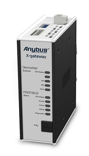 Anybus Gateway-DeviceNet Scanner/Master-PROFIBUS DP-V0 Slave