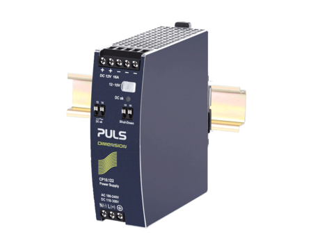 PULS DIN-Rail Power Supply For 1-phase Systems-12V/16A