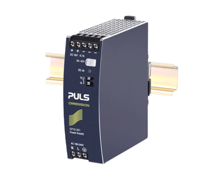 PULS DIN-Rail Power Supply For 1-phase Systems-36V/6.7A