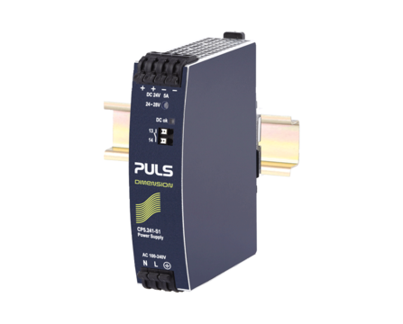 PULS DIN-Rail Power Supply For 1-phase Systems-24V/5A