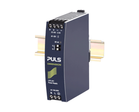 PULS DIN-Rail Power Supply For 1-phase Systems-48V/2.5A
