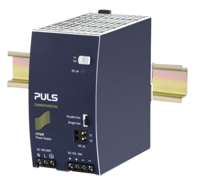 PULS DIN-Rail Power Supply For 1-phase Systems-12V/30A