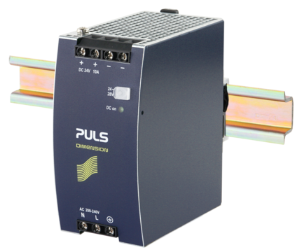 PULS DIN-Rail Power Supply For 1-phase Systems-24V/10A