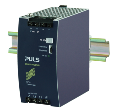 PULS DIN-Rail Power Supply For 3-phase Systems-48V/5A