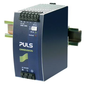 PULS DIN-Rail Power Supply For 1-phase Systems-48V/5A