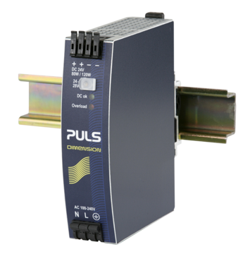 PULS DIN-Rail Power Supply For 1-phase Systems-24V/3.4A