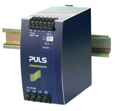 PULS DIN-Rail Power Supply For 3-phase Systems-48V/10A