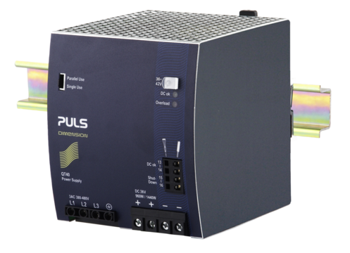 PULS DIN-Rail Power Supply For 3-phase Systems-36V/26.7A