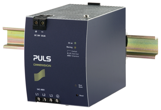 PULS DIN-Rail Power Supply For 3-phase Systems-36V/26.6A