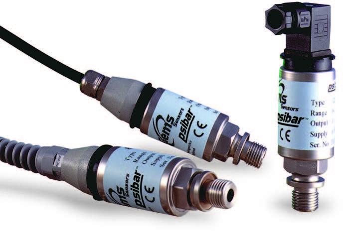 Gems 1600 Series Pressure Transducer 0-150 Psi