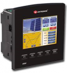 Unitronics: V350-J-R34..Flat Fascia, 20 Digital Inputs, 2 Analog/Digital Inputs, 12 Relay Outputs, 4..HighSpeed..Transistor Outputs, RS232/485, 24VDC